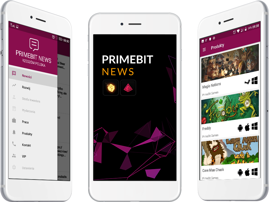 screen PrimeBitNews on Phones